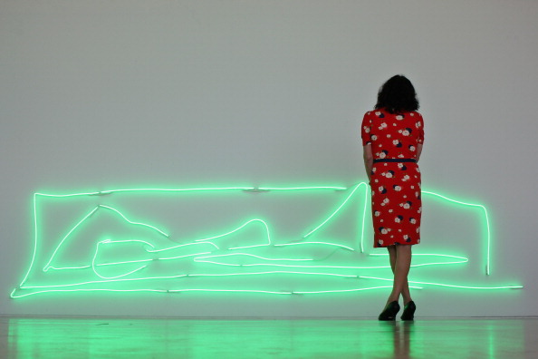 Visit「Tracey Emin Unveils Her New Exhibition At The Turner Contemporary In Margate」:写真・画像(19)[壁紙.com]