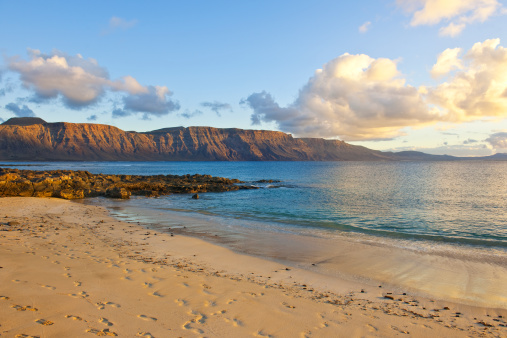 La Graciosa - Canary Islands「Playa Francesa, view of the beach」:スマホ壁紙(8)