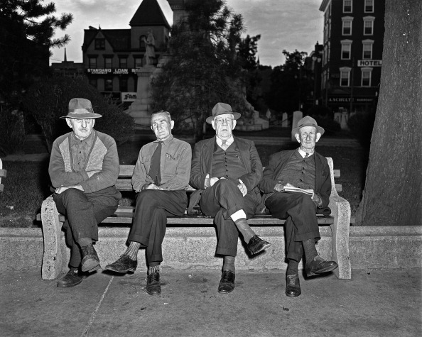 Bench「Four Old Men」:写真・画像(6)[壁紙.com]