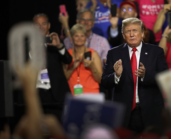 """MAGA「Donald Trump Holds """"Make America Great Again"""" Rally In Tampa」:写真・画像(9)[壁紙.com]"""