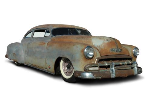 Hot Rod Car「Old Rusty Low Rider」:スマホ壁紙(14)