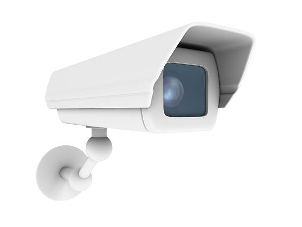 A picture of a white security camera:スマホ壁紙(壁紙.com)