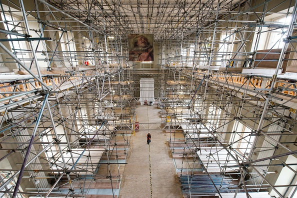Ceiling「Renovations Begin At The Banqueting House In Whitehall」:写真・画像(7)[壁紙.com]