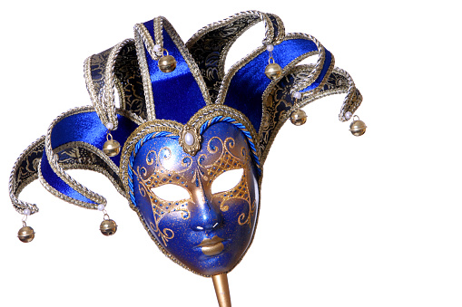 Carnival「A picture of a blue and gold mask」:スマホ壁紙(18)