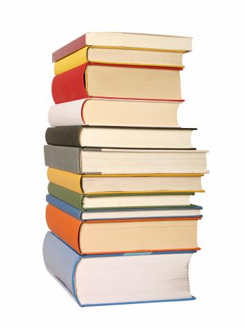 Manuscript「Books different colours」:スマホ壁紙(1)