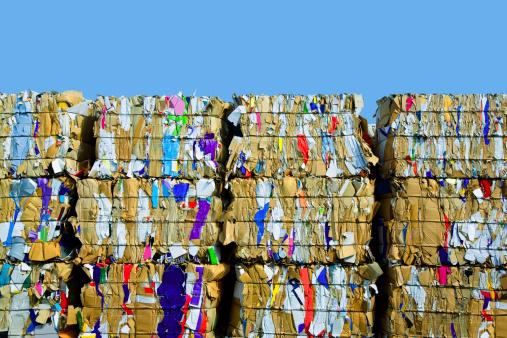 Recycling「Bundled Cardboard For Recycling」:スマホ壁紙(10)