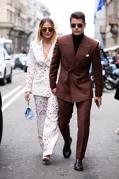 ストリートスナップ「Ermanno Scervino - Street Style - Milan Fashion Week 2019」:写真・画像(2)[壁紙.com]