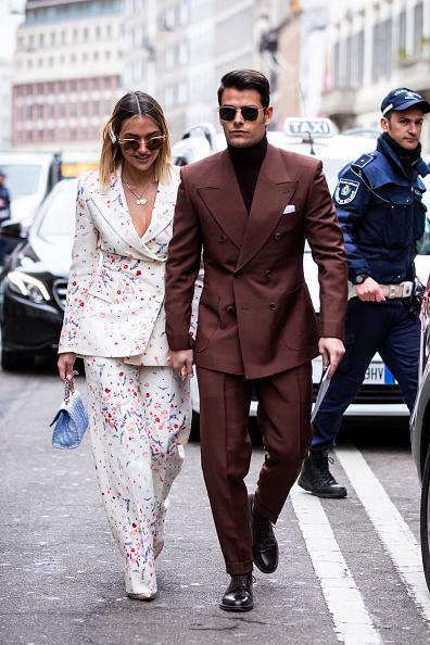 ストリートスナップ「Ermanno Scervino - Street Style - Milan Fashion Week 2019」:写真・画像(13)[壁紙.com]
