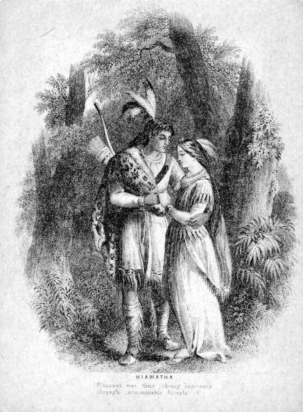 Awe「The Song of Hiawatha - illustration to 1885 epic poem」:写真・画像(19)[壁紙.com]