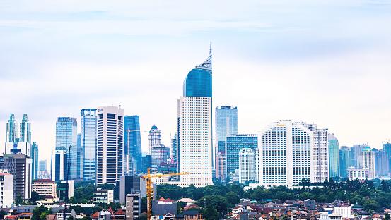 インドネシア「ワンランク上のジャカルタの街並みの眺め」:スマホ壁紙(2)