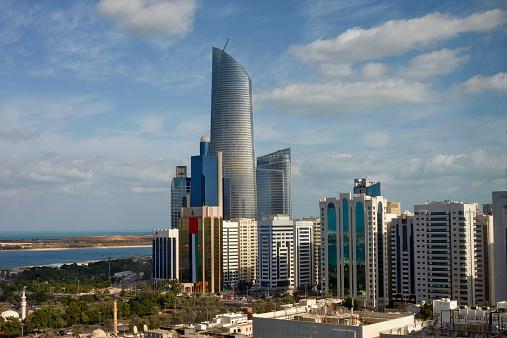 Postmodern「Elevated view of Abu Dhabi」:スマホ壁紙(19)