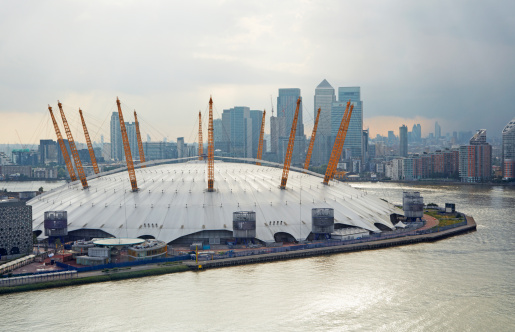 Cable Car「Elevated view of O2 Arena」:スマホ壁紙(11)
