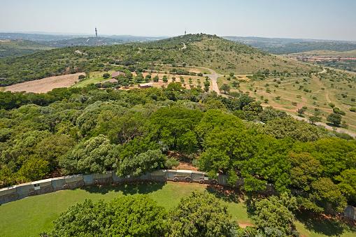 Pretoria「Elevated view of Pretoria from the Voortrekker monument」:スマホ壁紙(13)