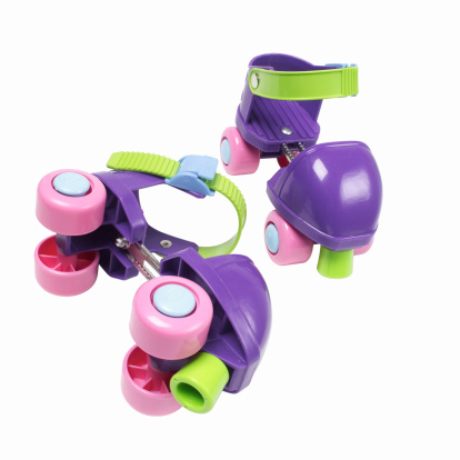 Roller skate「Elevated view of a child's inline skates」:スマホ壁紙(7)