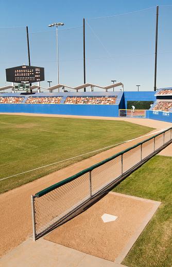 Scoreboard「Elevated view of a baseball park」:スマホ壁紙(14)