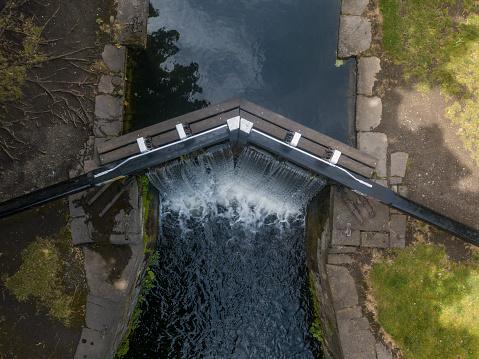 Dublin - Republic of Ireland「Elevated view of the Grand Canal, Dublin, Ireland」:スマホ壁紙(16)
