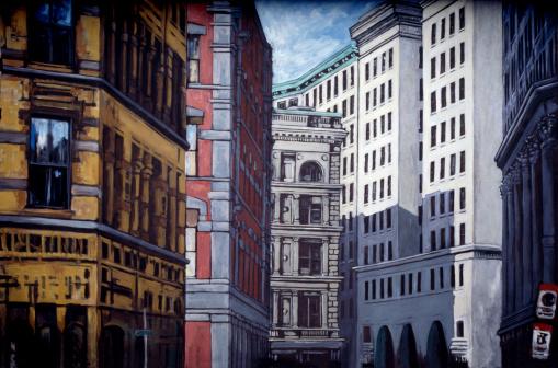 Boulevard「City buildings」:スマホ壁紙(6)