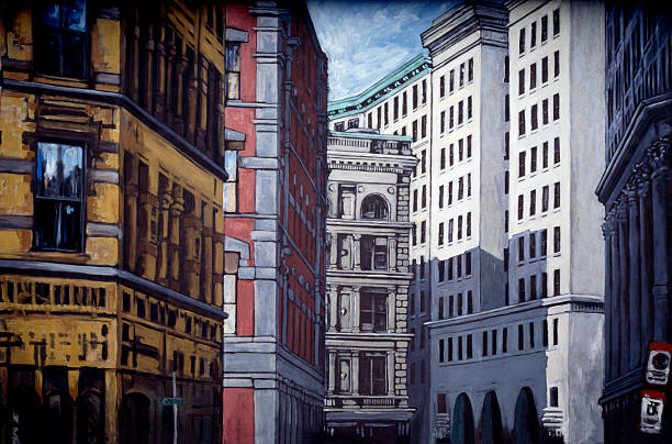 City buildings:スマホ壁紙(壁紙.com)
