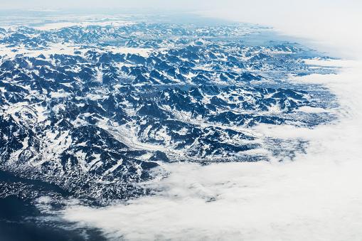 北極「北極グリーンランド、空撮風景」:スマホ壁紙(5)