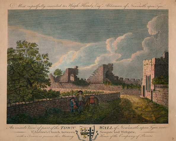 Wall - Building Feature「An Inside View Of The Town Wall Of Newcastle Upon Tyne」:写真・画像(19)[壁紙.com]