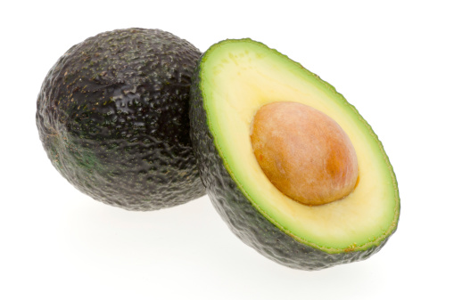 Avocado「Avocado on a white background」:スマホ壁紙(1)