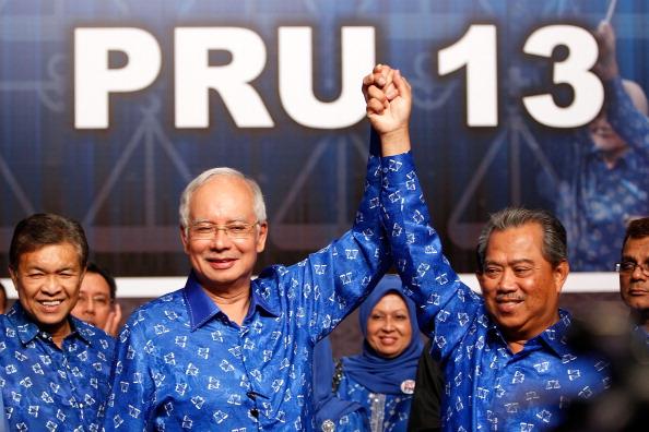 Mohammad Najib Tun Razak「Malaysian's Await Results Of 13th General Election」:写真・画像(7)[壁紙.com]