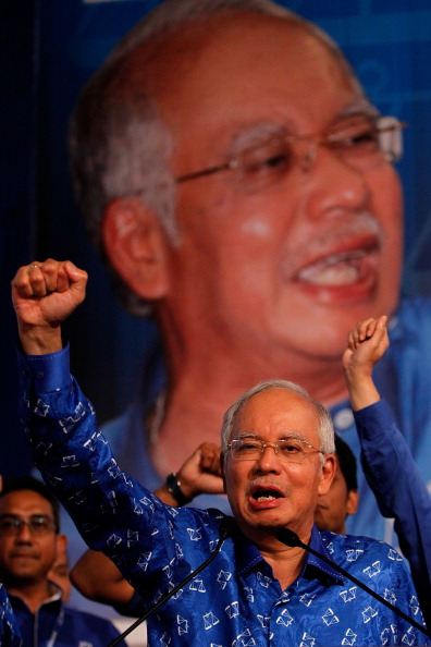 Mohammad Najib Tun Razak「Malaysian's Await Results Of 13th General Election」:写真・画像(19)[壁紙.com]