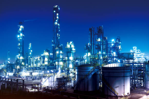 Chemical & Petrochemical Plant, Oil Refinery:スマホ壁紙(壁紙.com)