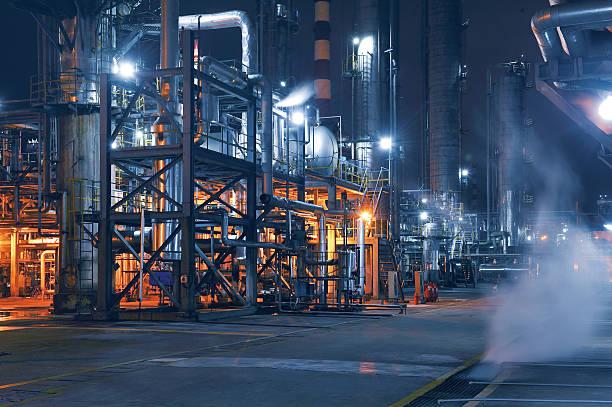 Chemical & Petrochemical Plant:スマホ壁紙(壁紙.com)