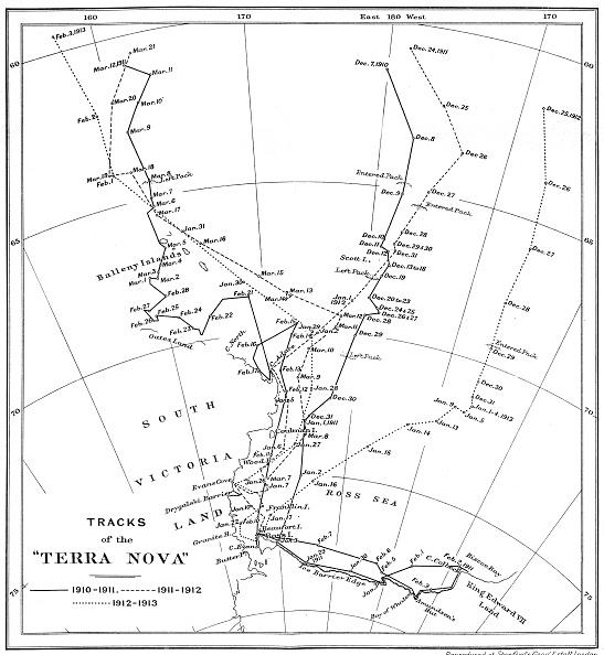 Ski Pole「Tracks Of The Terra Nova」:写真・画像(16)[壁紙.com]