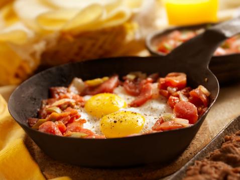 Skillet - Cooking Pan「Huevos Rancheros」:スマホ壁紙(8)