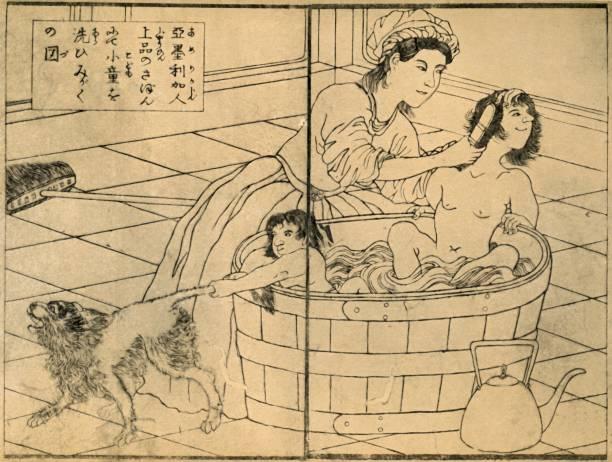 American Woman Bathing Her Children:ニュース(壁紙.com)