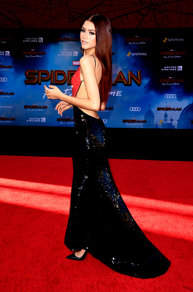 "Zendaya Coleman「Premiere Of Sony Pictures' ""Spider-Man Far From Home""  - Arrivals」:写真・画像(9)[壁紙.com]"