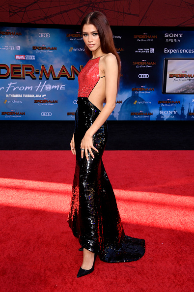 "Zendaya Coleman「Premiere Of Sony Pictures' ""Spider-Man Far From Home""  - Arrivals」:写真・画像(6)[壁紙.com]"