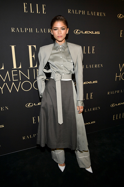 Zendaya Coleman「ELLE's 26th Annual Women In Hollywood Celebration Presented By Ralph Lauren And Lexus - Arrivals」:写真・画像(14)[壁紙.com]