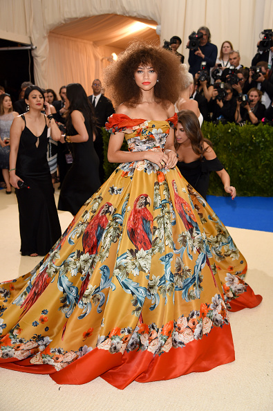 "Zendaya Coleman「""Rei Kawakubo/Comme des Garcons: Art Of The In-Between"" Costume Institute Gala - Arrivals」:写真・画像(13)[壁紙.com]"