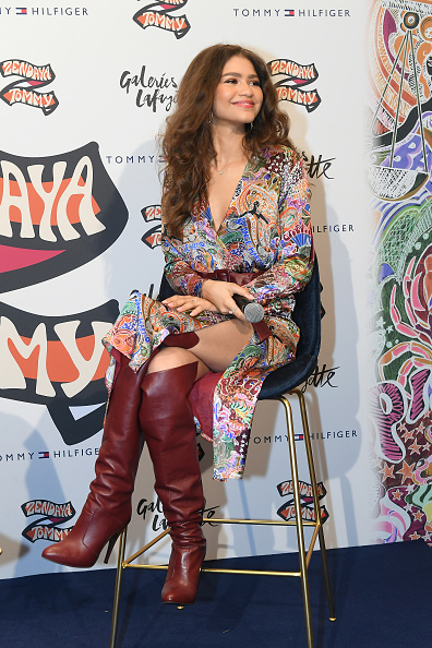Zendaya Coleman「Tommy Hilfiger TOMMYNOW Spring 2019 : TommyXZendaya At The Galeries Lafayette In Paris」:写真・画像(11)[壁紙.com]