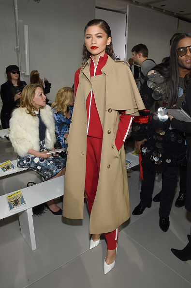 Zendaya Coleman「Michael Kors Collection Fall 2018 Runway Show - Front Row」:写真・画像(11)[壁紙.com]