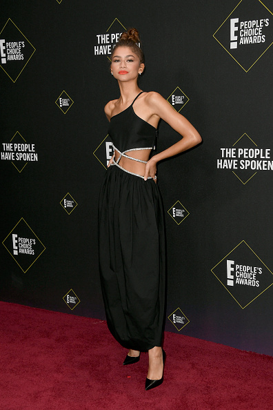 Zendaya Coleman「2019 E! People's Choice Awards - Arrivals」:写真・画像(18)[壁紙.com]