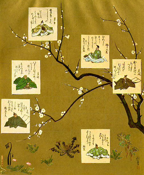 Six poets of the Nara and Heian periods, Japan:ニュース(壁紙.com)