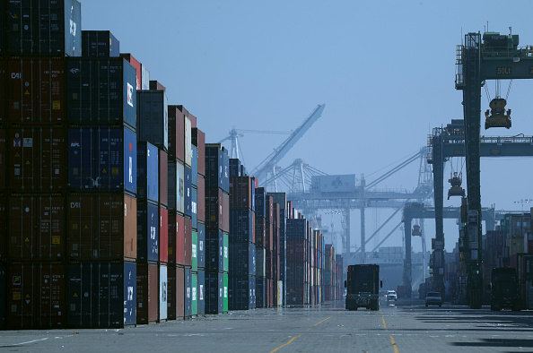 Oakland - California「WTO Projects That Global Trade Flows Will Fall To Lowest Level In 10 Years」:写真・画像(12)[壁紙.com]