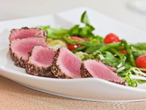Asparagus「herb-crust tuna loin」:スマホ壁紙(3)
