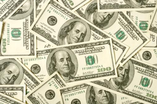 Employment And Labor「$100 bills background」:スマホ壁紙(5)