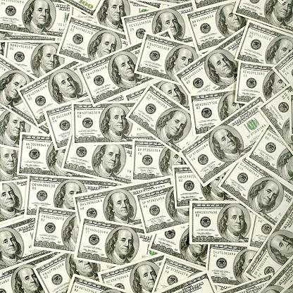 Economic fortune「$100 bills background」:スマホ壁紙(9)