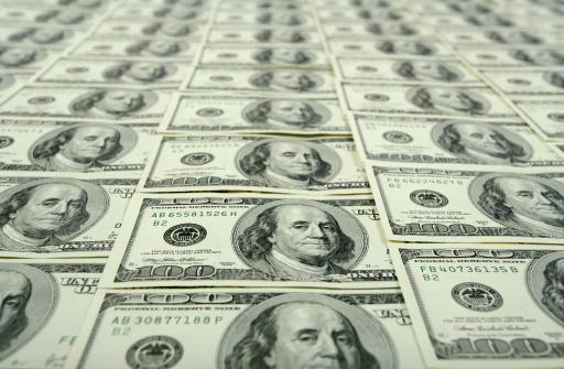 Economic fortune「$100 bills background」:スマホ壁紙(2)