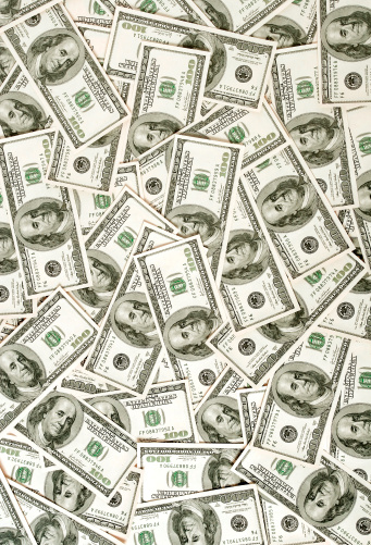 Banking「$100 bills background」:スマホ壁紙(14)