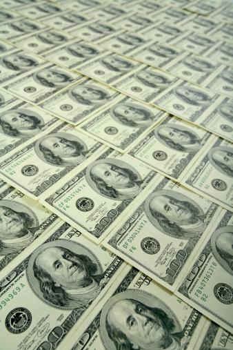 Economic fortune「$100 bills background」:スマホ壁紙(5)