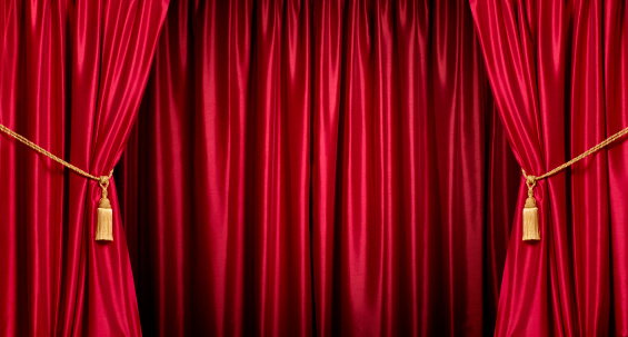 Red「Background/theatre red curtains」:スマホ壁紙(4)