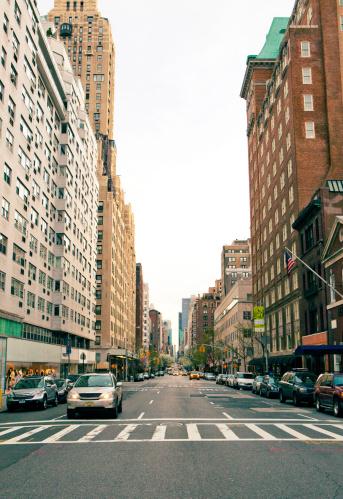 Road Marking「Upper East Side, New York City」:スマホ壁紙(6)