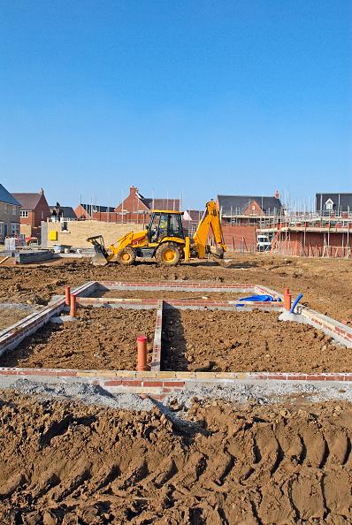 Brick Wall「New residential development in South East  England, UK」:写真・画像(9)[壁紙.com]